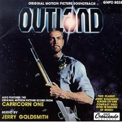 outland / capricorn one - soundtrack CD 1993 gnp crescendo 22 tracks used mint