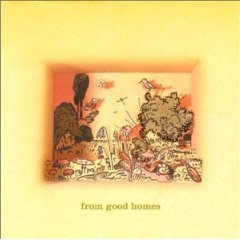 from good homes - from good home CD 1998 RCA used sticker on front liner barcode punched