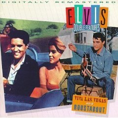elvis presley - elvis double features viva las vegas and roustabout CD 1993 RCA mint