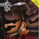 mortal sin - face of despair CD 1989 polygram used mint