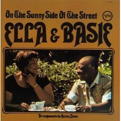 ella fitzgerald & count basie - on the sunny side of the street CD 1984 polygram used mint