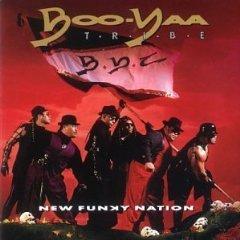 boo-yaa t.r.i.b.e. - new funky nation CD 1990 4th & B'way island used mint