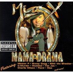 mia x - mama drama CD 1998 no limit priority used mint