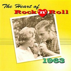 the heart of rock n roll 1963 - various artists CD 1996 time life warner used mint
