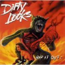 dirty looks - rip it out! CD 1996 mirror records 8 tracks used mint