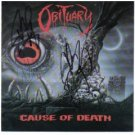 obituary - cause of death CD 1990 roadrunner used mint