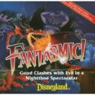 disney fantasmic! - good clashes with evil in a nighttime spectacular CD 1998 disney magic used mint
