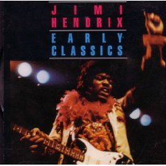 jimi hendrix - early classics CD 1988 special music pair records used mint