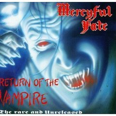 mercyful fate - return of the vampire CD 1992 roadrunner 9 tracks used mint