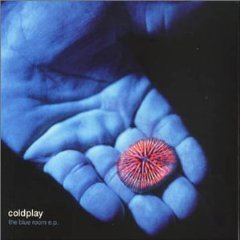 coldplay - the blue room ep CD 1999 EMI parlophone 5 tracks used