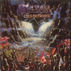 saxon - rock the nations CD 1986 EMI 9 tracks used mint