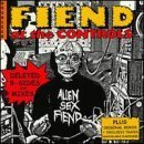alien sex fiend - fiend at the controls vol. 1 & 2 CD 2-discs 1999 anagram UK used mint