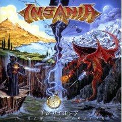 insania - fantasy a new dimension CD 2003 no fashion music network used mint