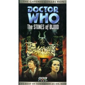 doctor who - the stones of blood VHS 1978 BBC 1996 CBS used mint
