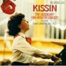 kissin - legendary 1984 moscow concert - chopin piano concertos nos.1&2 CD 1995 RCA mint