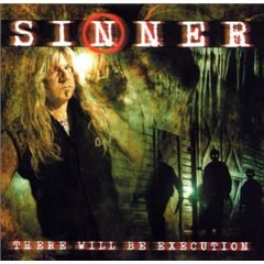 sinner - there will be execution CD 2003 victor japan 13 tracks used mint