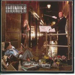 thunder - back street symphony CD 1990 emi toshiba japan 13 tracks used mint