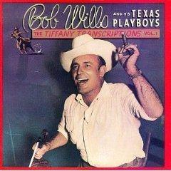 bob wills and his texas playboys - tiffany transcriptions vol. 1 CD 1982 1989 rhino mint