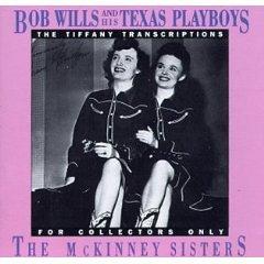 bob wills and his texas playboys - tiffany transcriptions the mckinney sisters CD 1990 rhino mint