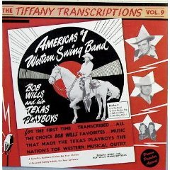 bob wills and his texas playboys - tiffany transcriptions vol.9 CD 1990 kaleidoscope mint