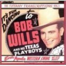 bob wills and his texas playboys - tiffany transcriptions vol.5 CD 1986 rhino mint