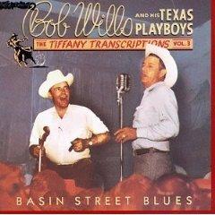 bob wills - tiffany transcriptions vol.3 basin street blues CD 1984 rhino mint