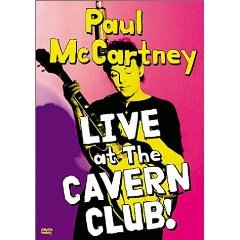 paul mccartney - live at the cavern club DVD 2000 image used mint
