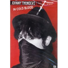 johnny thunders - live in cold blood march 13, 1982 NYC DVD 2002 MVD 30 min mint