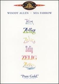 zelig starring woody allen mia farrow VHS 1983 orion 1984 warner PG NTSC B&W / color 79 mins clean