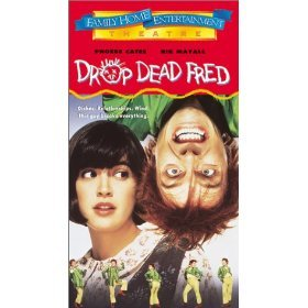 drop dead fred starring phoebe cates and rik mayall VHS 1996 live new line polygram 103 min used