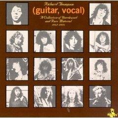 richard thompson - guitar vocal CD 1976 island rykodisc 1991 hannibal used mint