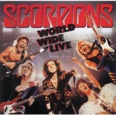 scorpions - world wide live CD 1985 polygram mercury BMG Direct used mint