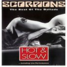 scorpions - hot & slow the best of the ballads CD 1991 RCA 12 tracks used mint