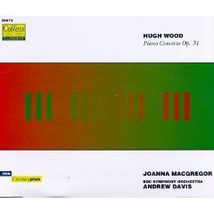 hugh wood - piano concerto op.31 - joanna macgregor & bbc sym orch w/ andrew davis CD 1993 lambourne