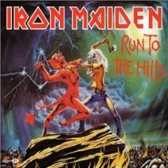 iron maiden - run to the hills CD single 2002 EMI 4 tracks used mint