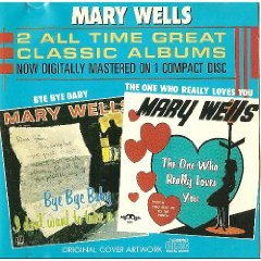 mary wells - bye bye baby / the one who really loves you CD 1987 motown used near mint