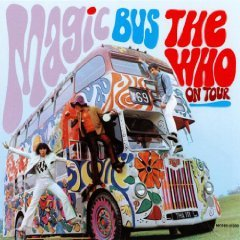 the who on tour magic bus CD 1966 MCA made in canada used mint