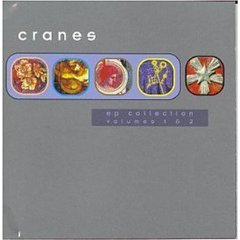 cranes - ep collection volumes 1 & 2 CD 2-discs 1997 dedicated used mint