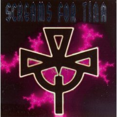 screams for tina - self-titled CD 1993 cleopatra 10 tracks used very good