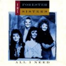 the forester sisters - all i need CD 1989 warner used mint