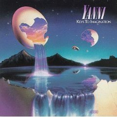 yanni - keys to imagination CD 1986 RCA private used mint