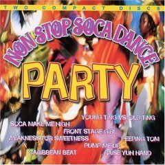 non stop soca dance party - various artists CD 2-discs I.M.C. 26 tracks total used