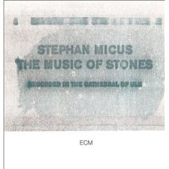stephan micus - the music of stones CD 1989 ECM made in germany used mint