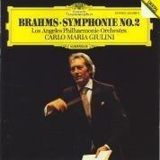 brahms symphonie no.2 - LA philharmonic with giulini CD 1981 DG used mint