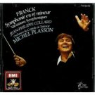 franck - symphonie en re mineur - collard / plasson CD 1986 EMI france used mint