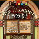 billboard pop memories 1945 - 49 CD 1994 rhino used mint