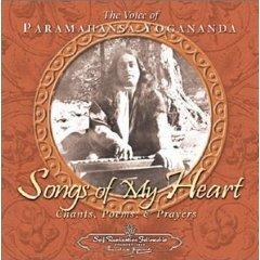 voice of paramahansa yogananda - songs of my heart CD 2000 used mint