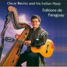 oscar benito and his indian harp - folklore de paraguay CD 1992 ARC austria used mint
