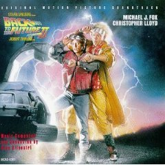 back to the future II - original motion picture soundtrack CD 1989 MCA used mint