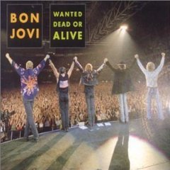 bon jovi - wanted dead or alive CD single 2001 island def jam made in EU 4 tracks used near mint